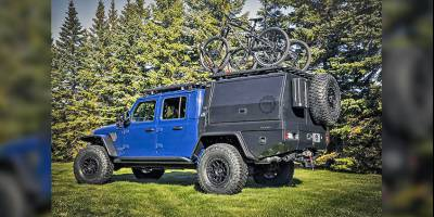 Из пикапа Jeep Gladiator сделали спецтранспорт для маунтинбайкеров