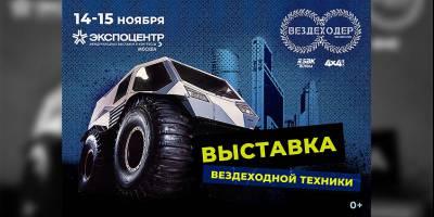 Спортивно-массовое мероприятие «Поехали 2020. Вездеходер»: Москва, 14-15 ноября