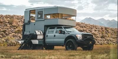 «Конструктор и авантюрист» из США построил автодом своей мечты, а теперь продаёт