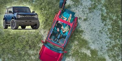 Ford показывает как вдвоем переночевать в новом Ford Bronco