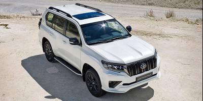 В России начали продавать новую спецверсию Toyota Land Cruiser Prado
