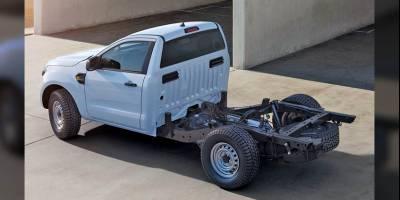 Ford представил самую утилитарную версию пикапа Ranger для постройки спецтехники