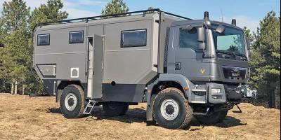 Crawler Otag 600: автодом для побега от цивилизации
