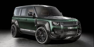 В полку «зелёных» от Carlex Design прибыло: Land Rover Defender Racing Green Edition