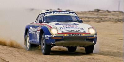 На старт «Дакара» в новой категории Classic выйдет 38-летний Porsche 911