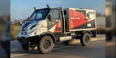 Итальянский грузовик GRAELION испытают «Дакаром»
