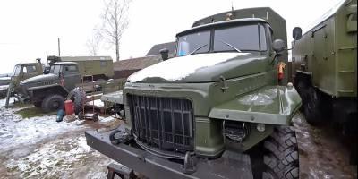 В Белоруссии нашлись «нулёвые» армейские «Уралы» и «КАМАЗы» на продажу