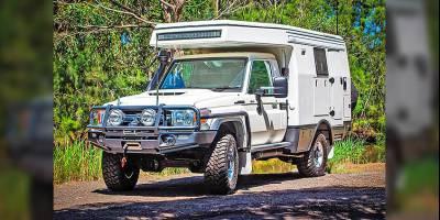 В Австралии выпустили технологичный автодом на базе Toyota Land Cruiser 70