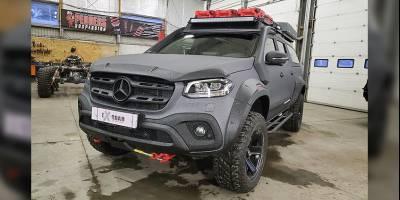 В Ex-Road подготовили пикап Mercedes для вылазок на природу