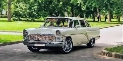 Советскую «Чайку», которая совсем не «Чайка», продают за 150 тысяч долларов