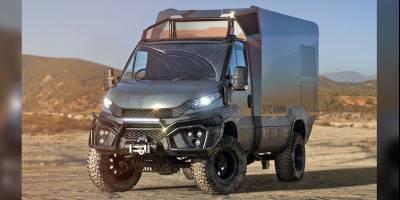 DARC MONO: новая модель «автодома-проходимца» появилась в Германии