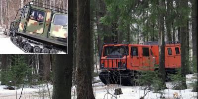Обрусевший шведский «Лось» стал «вездеходом Путина»