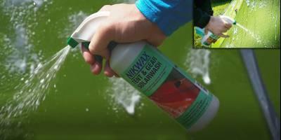 Nikwax защитит палатку от воды и солнца