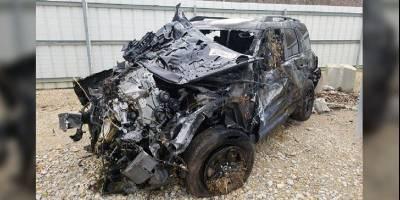 В Америке распродают первые битые Ford Bronco Sport