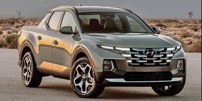 Hyundai представила свой первый пикап Santa Cruz