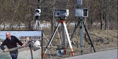 В России потихоньку исчезают передвижные камеры фиксации скорости