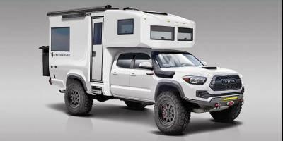 В США представили «мечту путешественника»: автодом BCT Tacoma 4x4 Camper