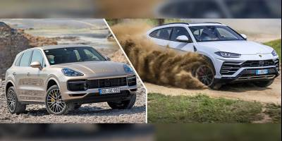 Очень дорогой отзыв: На Lamborghini Urus и Porsche Cayenne заменят моторы