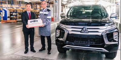 В России начали собирать новый Mitsubishi Pajero Sport