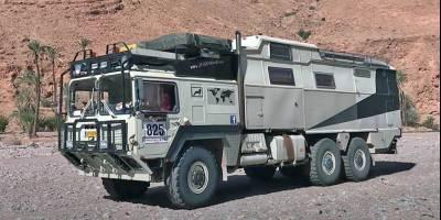 Автодом 6×6, проехавший Европу и Африку, пристраивают в хорошие руки