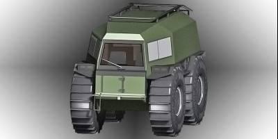В России запатентован новый вездеход «а-ля Шерп»
