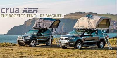 Представлена суперуниверсальная палатка – и для авто, и для земли, и для лета, и для зимы
