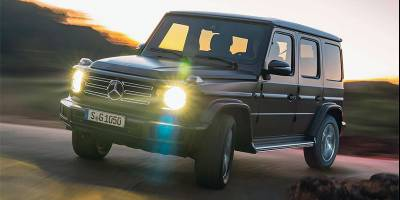 Mercedes покажет электрический Gelandewagen в сентябре