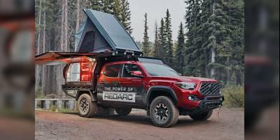 Из пикапа Toyota Tacoma сделали внедорожный автодом с мощной энергетической установкой