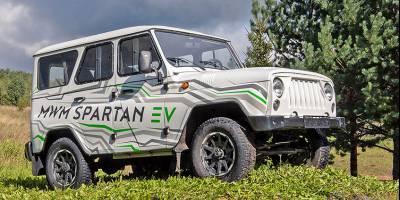 Интрига «новой модели УАЗ» раскрыта: это был чешский электрический «Хантер»