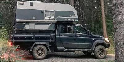 Самодельный автодом из УАЗ «Профи» понравился и самому автозаводу