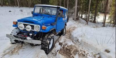 В Москве продают «легенду» – 38-летний Land Cruiser 40 серии с подвохом
