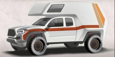 Назад в 70-е: Toyota возрождает стиль своих легендарных кемперов