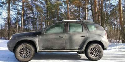 Подвеска Pedders на Renault Duster: 20000км. позади