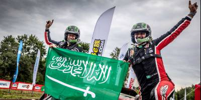 Язид Аль-Раджи и Тимо Готтшалк - победители марафона ШЕЛКОВЫЙ ПУТЬ 2018