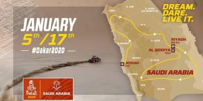 DAKAR 2020: презентация маршрута.