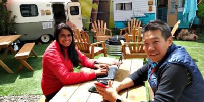 Американский стартап организовал почасовую аренду кемперов