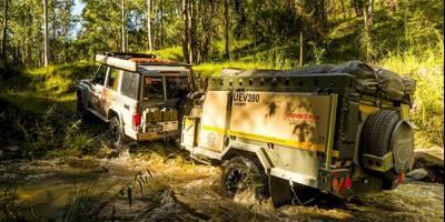Новый внедорожный прицеп Conqueror UEV-390 Escape: «прочный как гвоздь»