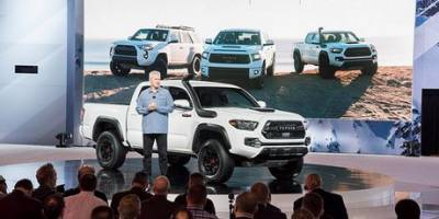 Toyota обновила внедорожную линейку TRD Pro