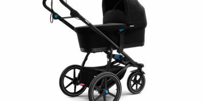 Thule создала вездеходную коляску для путешествий с детьми