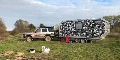 Прицеп для охоты и путешествий на Север: опыт постройки