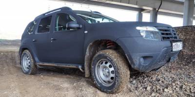 Глубокий тест пружин Pedders на Renault Duster