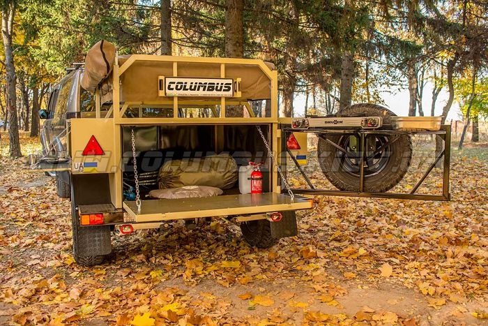 Off-road прицеп «Columbus Extreme Campers»