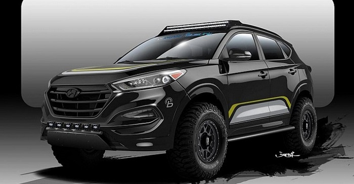 Hyundai Tucson от Rockstar Performance Garage