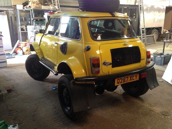 Mini Range Rover 4x4 v8 off road