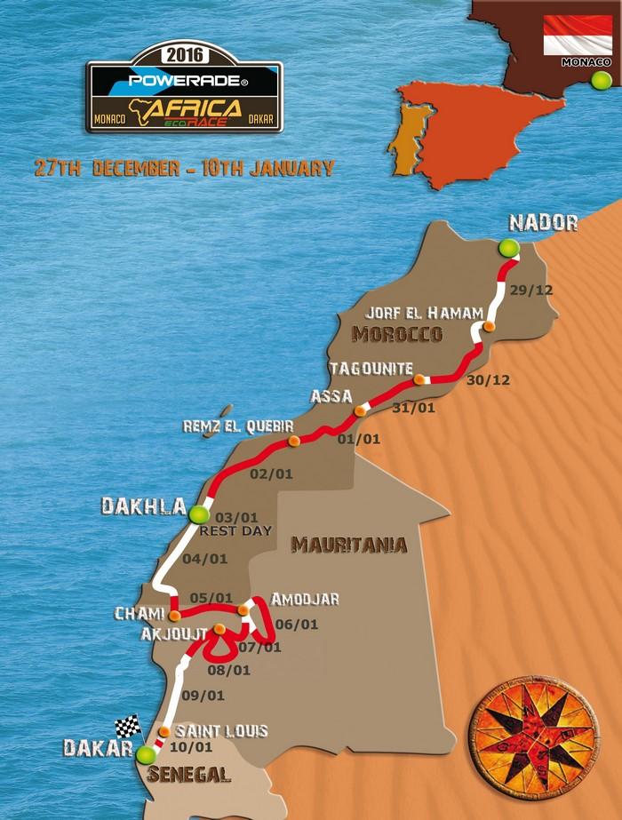 Ралли-рейд Africa Eco Race 2016