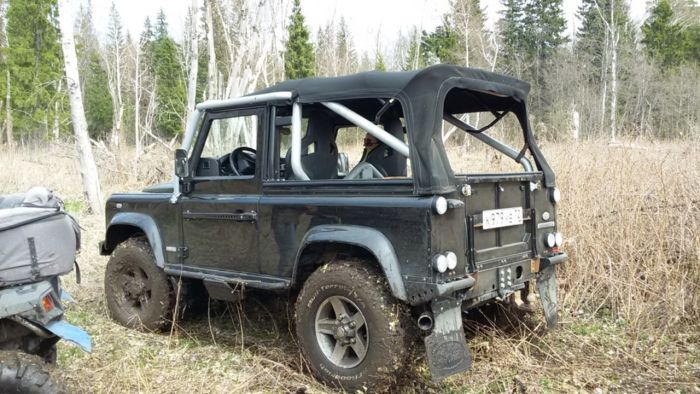 Land Rover Defender SVX Soft top Черный
