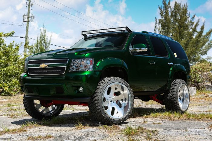 Kandy Green Chevrolet Tahoe