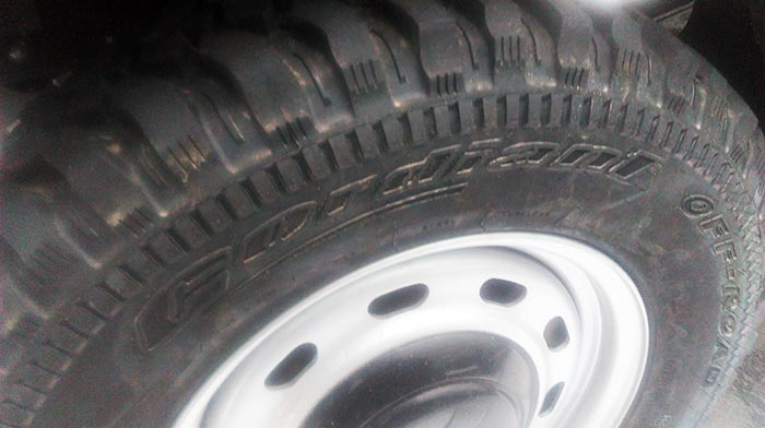 шины 225/75R16  модели OS-501 Cordiant Off Road