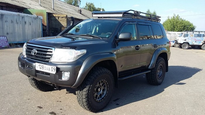 Тюнинг Toyota Land Cruiser 205