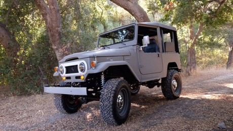 Land Cruiser FJ40 Icon FJ Old School